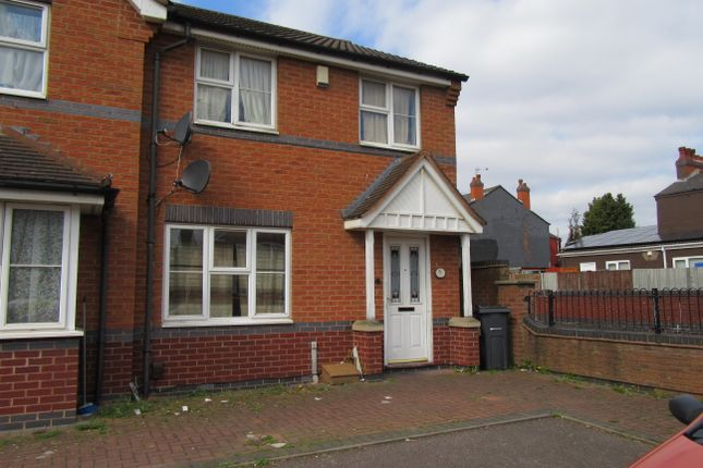 Thumbnail End terrace house for sale in Fordrough Lane, Bordesley Green, Birmingham, West Midlands