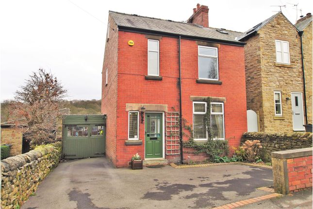 Thumbnail Detached house for sale in New Road, Holymoorside, Chesterfield