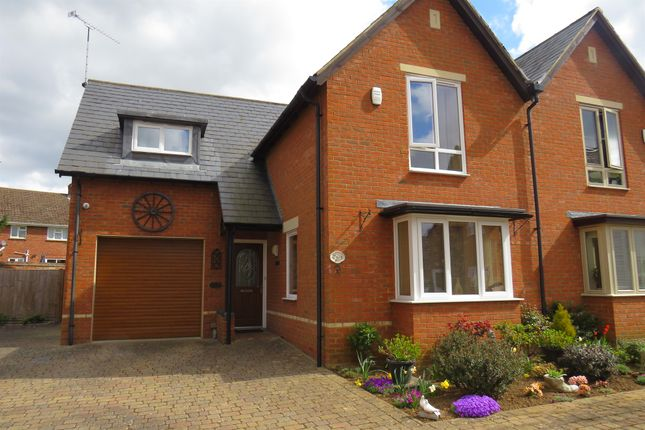 Thumbnail Semi-detached house for sale in Tankard Close, Newport Pagnell