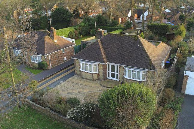 Thumbnail Detached bungalow for sale in Wantley Lane, Storrington, Pulborough