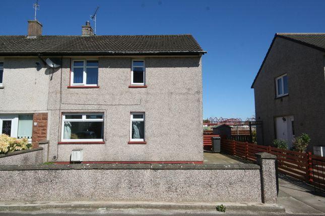 Thumbnail End terrace house for sale in Osborne Drive, Dumfries