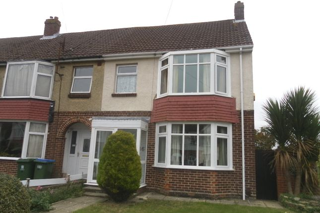 Thumbnail End terrace house for sale in Beaulieu Avenue, Portchester