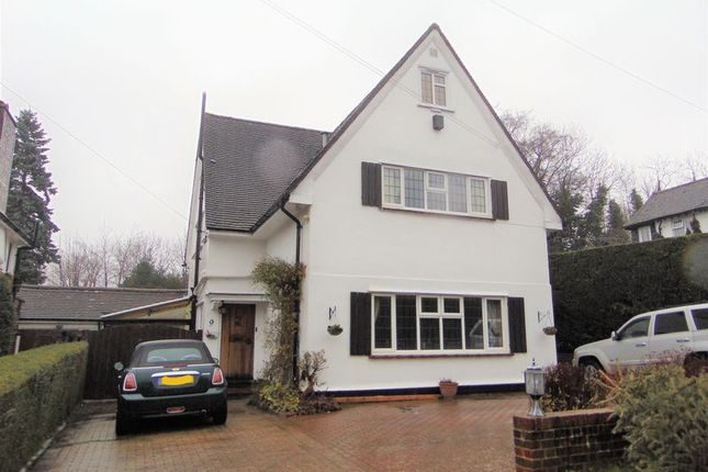 Thumbnail Detached house to rent in Stagbury Close, Chipstead, Coulsdon