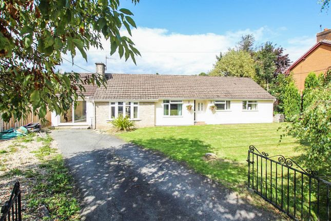 Thumbnail Bungalow for sale in Hospital Road, Builth Wells