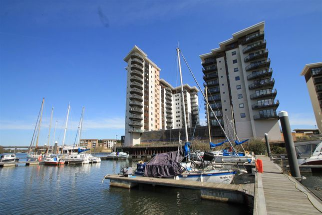 Thumbnail Flat for sale in Victoria Wharf, Watkiss Way, Cardiff Bay