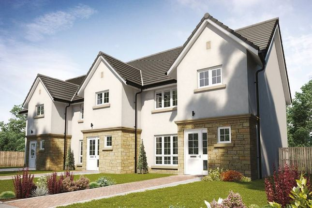 "Thumbnail Terraced house for sale in ""The Arthur"" at Hillview Gardens, Nivensknowe Park, Loanhead"