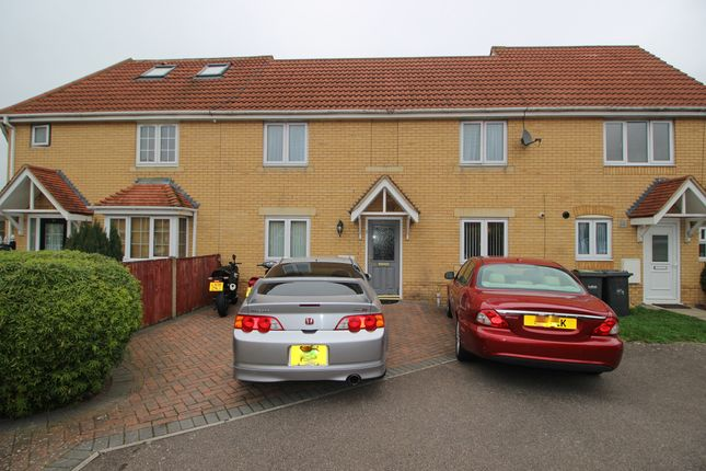 Thumbnail Terraced house for sale in Morgan Close, Leagrave, Luton