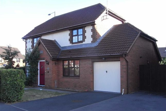 Thumbnail Detached house to rent in Stocken Close, Hucclecote, Gloucester