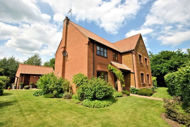 Thumbnail Detached house for sale in Chapel Road, Pott Row, King's Lynn
