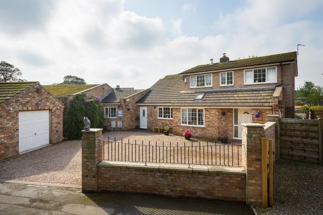 Thumbnail Link-detached house for sale in The Village, Haxby, York