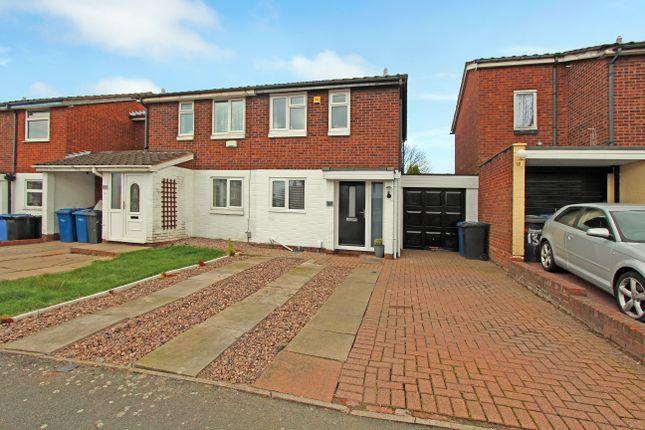 Thumbnail Semi-detached house for sale in Brambling, Wilnecote, Tamworth