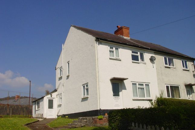 Thumbnail Semi-detached house to rent in Defynnog Road, Sennybridge, Brecon