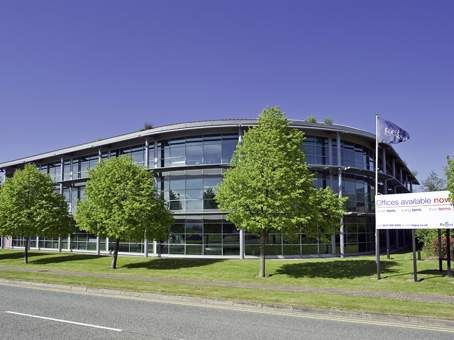 Thumbnail Office to let in Herons Way, Chester Business Park, Chester, - Serviced Offices