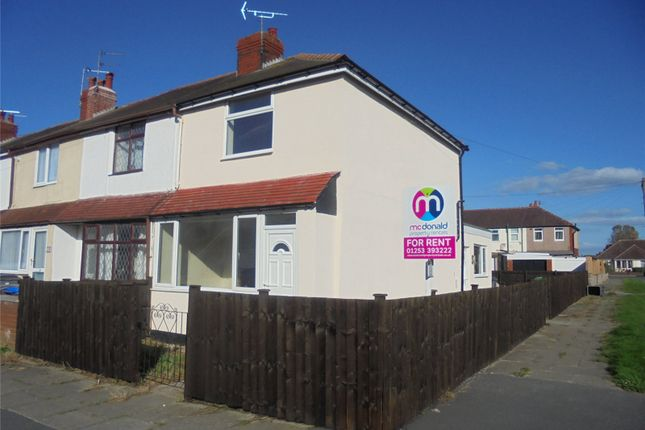 3 bed end terrace house to rent in Harold Avenue, Blackpool FY4