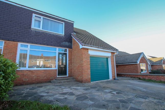 Thumbnail Semi-detached house for sale in Wilton Bank, Saltburn-By-The-Sea