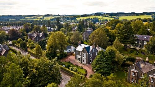Thumbnail Detached house for sale in Moffat, Dumfries & Galloway