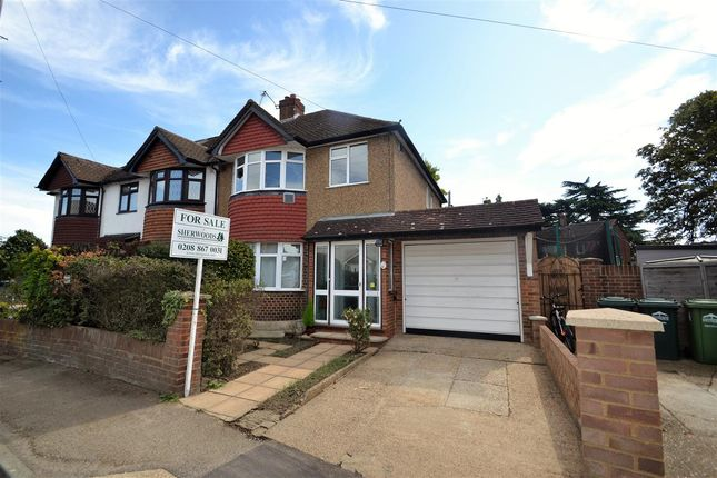 Thumbnail Semi-detached house for sale in Stanhope Heath, Stanwell, Staines