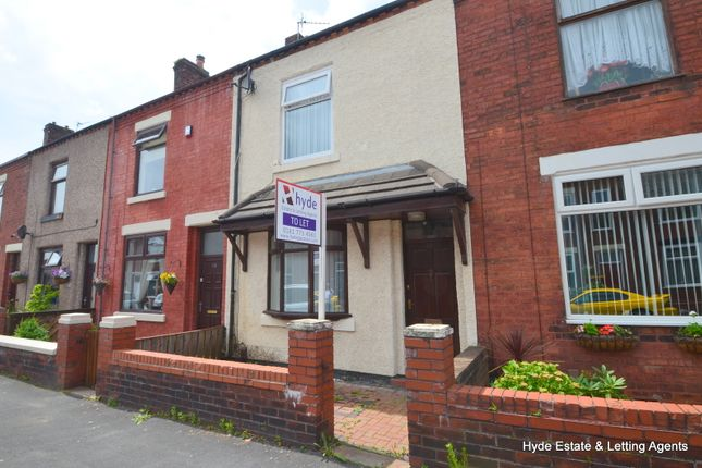 Thumbnail Terraced house to rent in Oak Street, Leigh