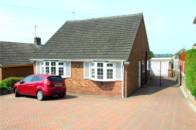 Thumbnail Detached bungalow for sale in Birchover Way, Allestree, Derby