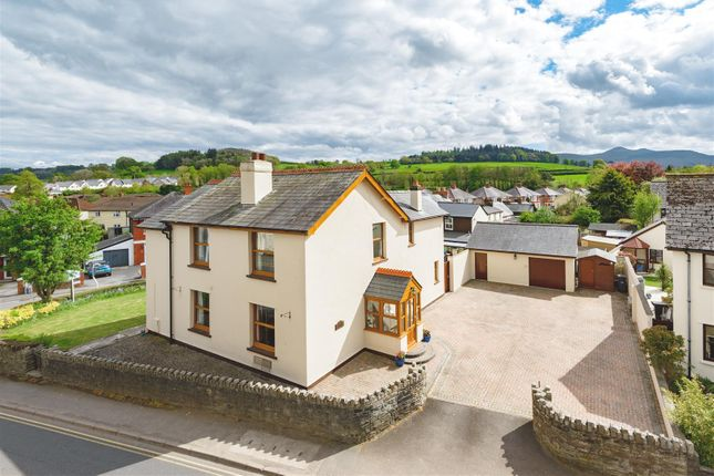 Thumbnail Detached house for sale in Newgate Street, Llanfaes, Brecon