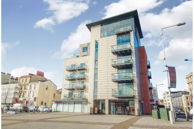 Thumbnail Flat for sale in Quayside, Bute Crescent, Cardiff Bay, Cardiff