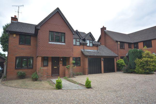 Thumbnail Detached house for sale in Hopkins Close, Gidea Park