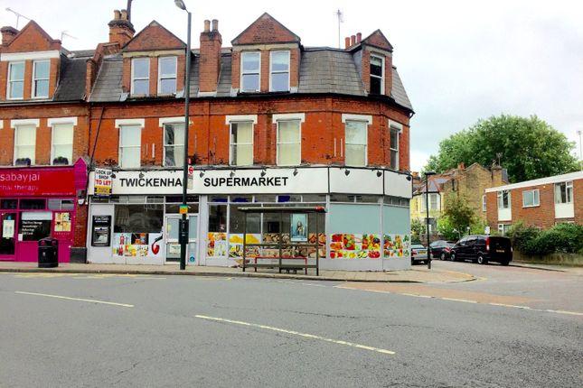 Retail premises to let in Richmond Road, Twickenham