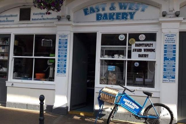 Thumbnail Retail premises for sale in 1 Butchers Row, Barnstaple