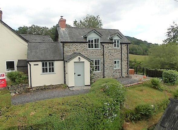 Thumbnail Detached house for sale in Bont Dolgadfan, Llanbrynmair, Powys