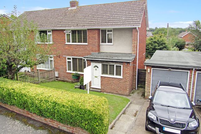 Thumbnail Semi-detached house for sale in Manse Field, Brabourne Lees, Ashford