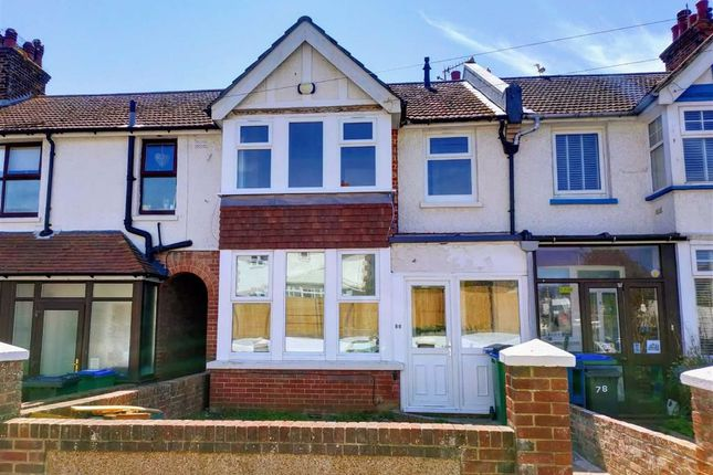 3 bed terraced house to rent in Chichester Road, Seaford, East Sussex BN25