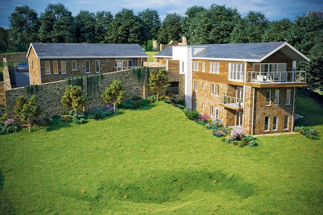 Thumbnail Flat for sale in New Build, 4 The Walled Garden, Roseland Parc Retirement Village, Truro, Cornwall