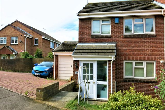 Thumbnail Semi-detached house to rent in Harrier Drive, Sittingbourne
