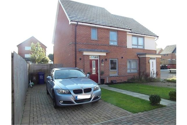 Thumbnail Semi-detached house for sale in Piper Court, Newcastle Upon Tyne