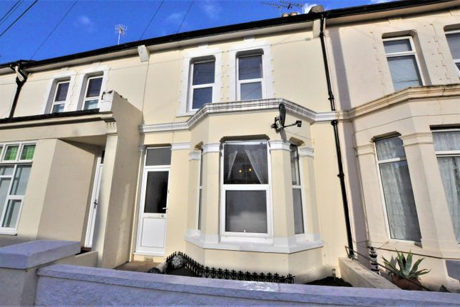 Thumbnail Terraced house for sale in Windsor Road, Bexhill-On-Sea