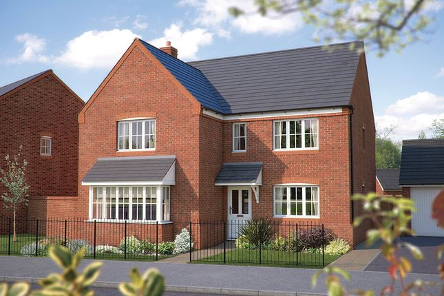 "Thumbnail Detached house for sale in ""The Arundel"" at Squinter Pip Way, Bowbrook, Shrewsbury"