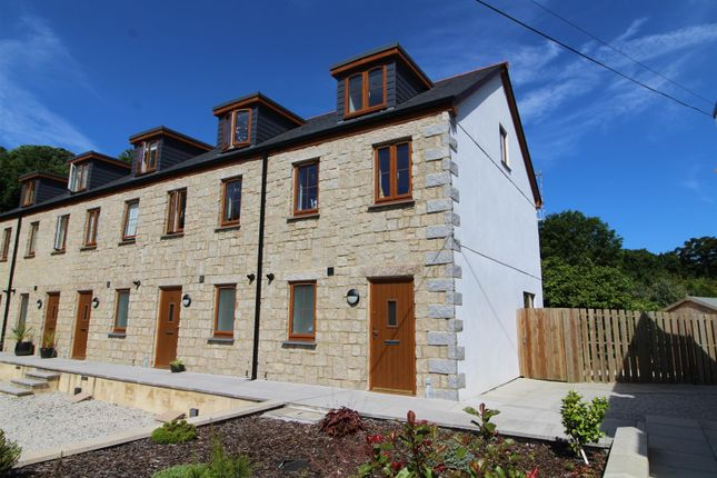 Thumbnail End terrace house for sale in Kew Hal An Tow, Helston