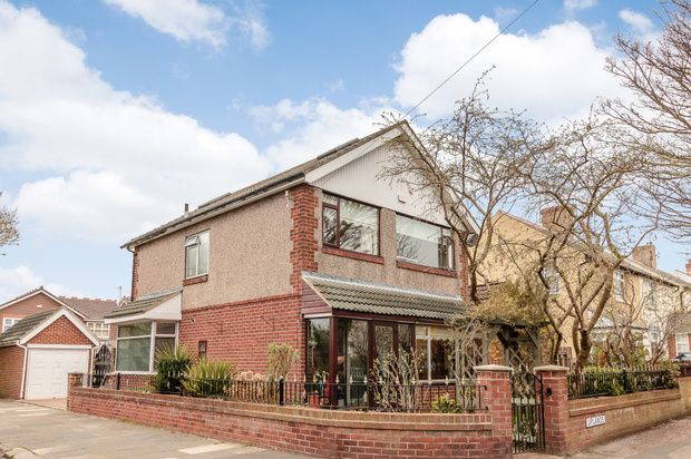 Thumbnail Detached house for sale in Uplands, Whitley Bay