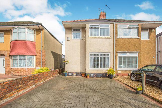 Thumbnail Semi-detached house for sale in Fairfax Road, Heath, Cardiff