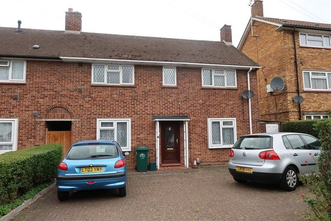 Thumbnail End terrace house for sale in Clare Road, Staines-Upon-Thames, Surrey