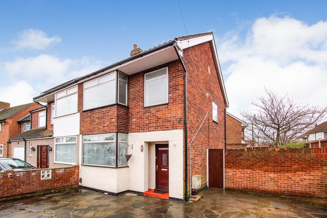 Thumbnail Semi-detached house to rent in Fullers Lane, Collier Row, Romford, Essex