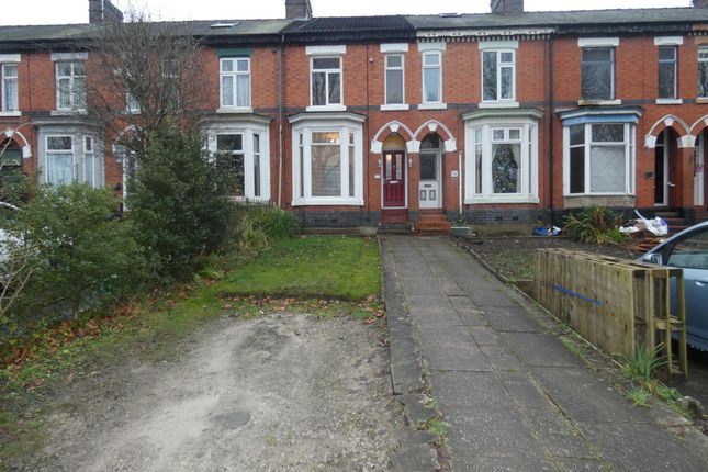 Thumbnail Terraced house to rent in Alton Street, Crewe