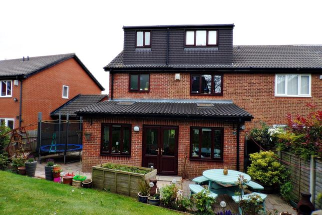 Thumbnail Semi-detached house for sale in Alcester Close, Stakeford, Choppington