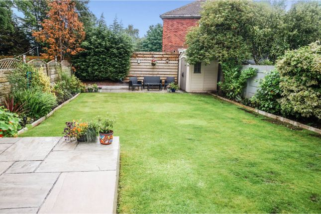 Rear Garden of Northway, Maghull L31