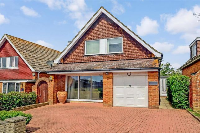 Thumbnail Detached house for sale in Tye View, Telscombe Cliffs, Peacehaven, East Sussex