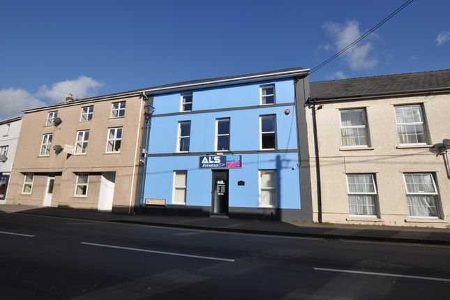 External of Bank House, Pentre Road, St Clears SA33