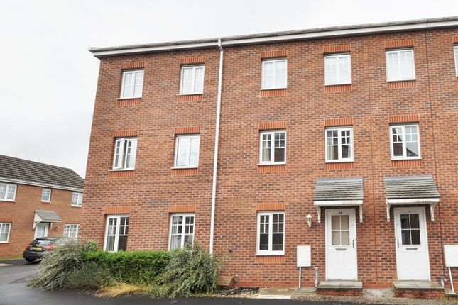Thumbnail Town house for sale in Boatman Drive, Etruria, Stoke-On-Trent