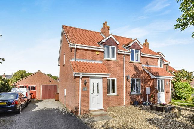 Thumbnail Semi-detached house to rent in Sycamore Close, Slingsby, York
