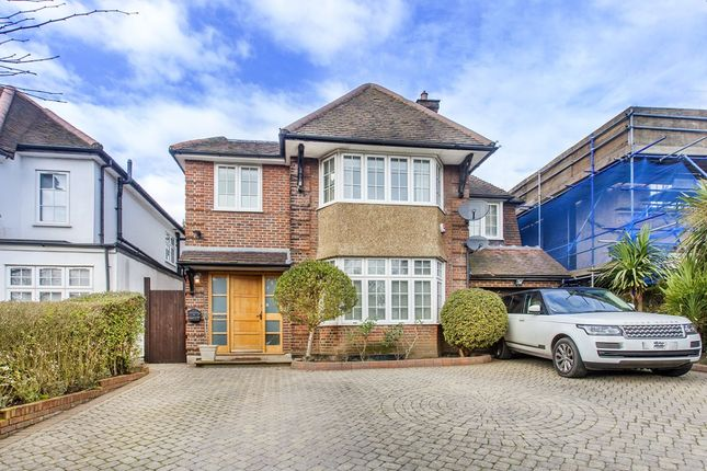 Thumbnail Detached house to rent in Basing Hill, London