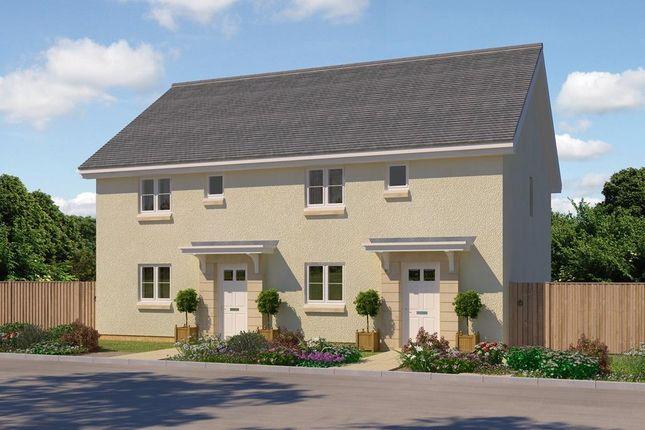 "Thumbnail 3 bed terraced house for sale in ""Bonnyton"" at Clippens Drive, Edinburgh"
